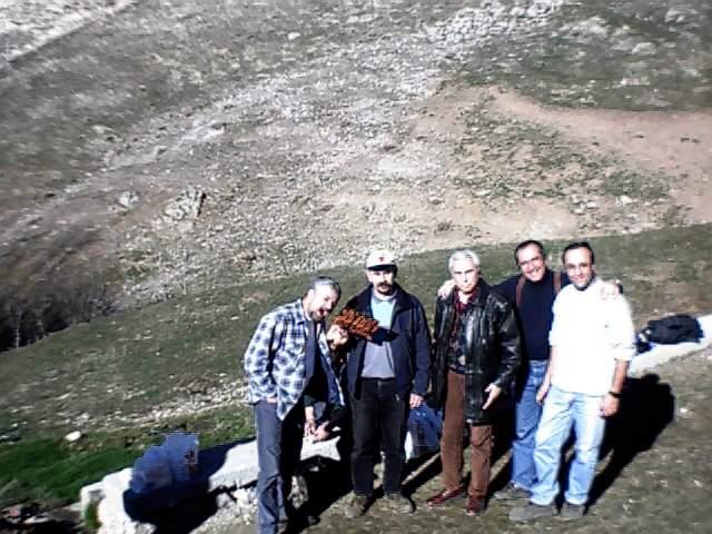 Emadağ'da röle istasyon yeri arama çalışmaları