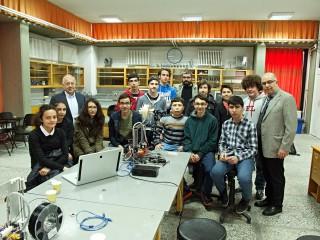 Ankara Fen Lisesi Öğrencileri ve Ankara Fen Liseliler Vakfı Üyeleri bir arada