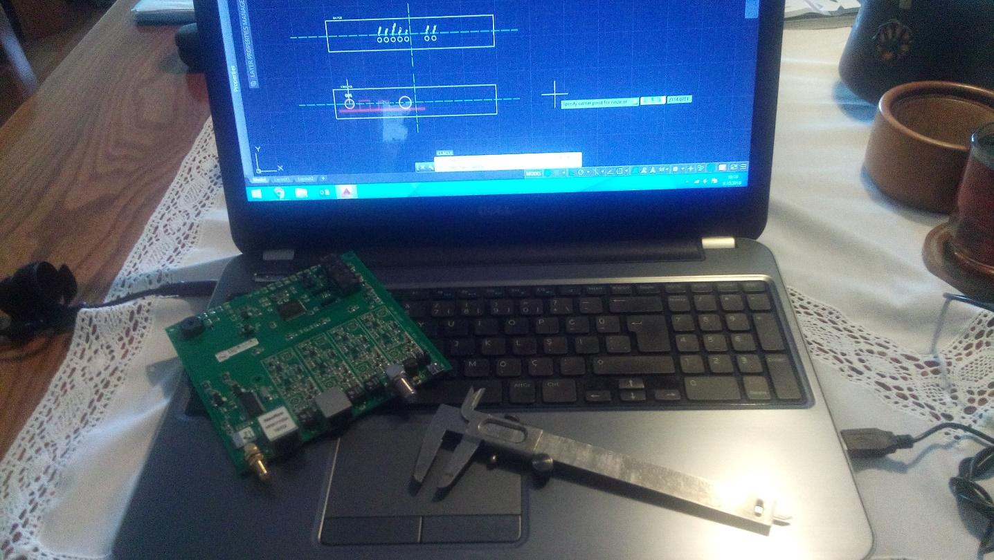 Resim 4: CAD yazılımı ile kutu ön ve arka kapak ölçülerinin oluşturulması
